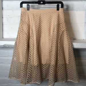 Club Monaco Peach Skirt